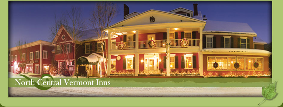 North Central Vermont bed and breakfast inns