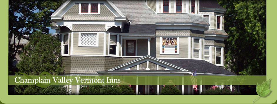 Champlain Valley Vermont bed and breakfast inns